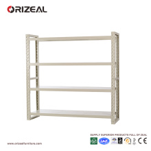 ORIZEAL Metal book shelf place documents and books
